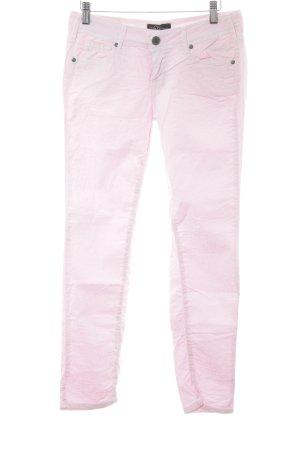 Cimarron Röhrenjeans rosa-hellrosa Animalmuster Animal-Look