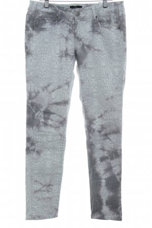 Cimarron Skinny Jeans Animalmuster extravaganter Stil