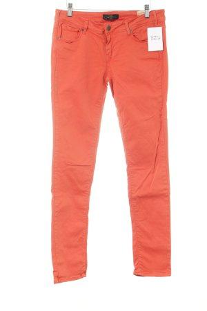 Cimarron Jeans skinny arancione scuro stile casual