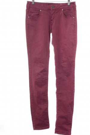 Cimarron Skinny Jeans dunkelrot Casual-Look