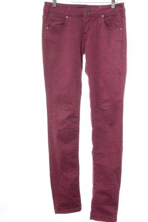 Cimarron Jeans skinny rosso scuro stile casual