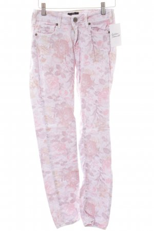 Cimarron Skinny Jeans florales Muster Casual-Look