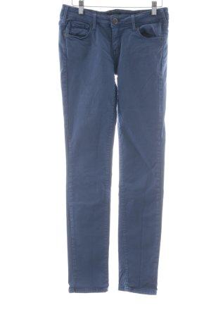 Cimarron Jeans skinny blu fiordaliso stile spiaggia
