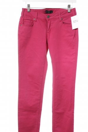Cimarron Skinny Jeans magenta casual look