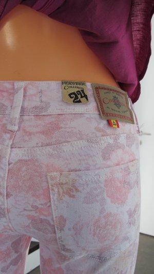 Cimarron Skinny Jeans mit Blumenprint Gr. 32 W24 / NEU!! NP 169,-€ !!