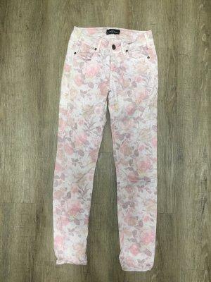 Cimarron Skinny Jeans Röhre Gr. 26 Np 129€ flowers
