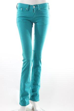 Cimarron Skinny Jeans türkis