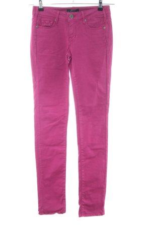 Cimarron Slim Jeans pink casual look
