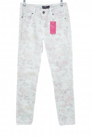 Cimarron Jeans slim fit motivo floreale stile hippie