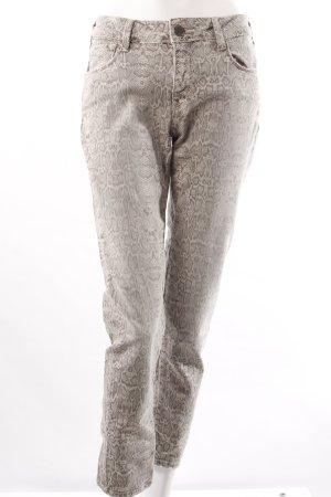 Cimarron Slim Jeans Reptilienmuster