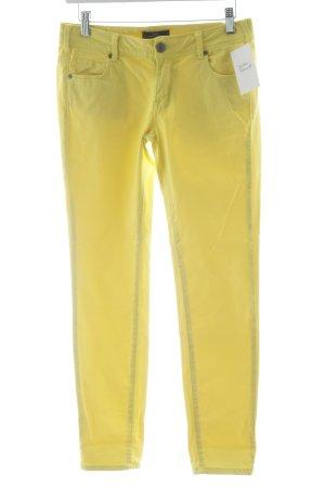 Cimarron Stoffhose gelb Casual-Look