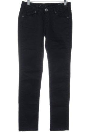 Cimarron Straight-Leg Jeans schwarz schlichter Stil
