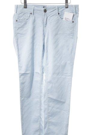 Cimarron Pantalone elasticizzato azzurro motivo animale stile casual