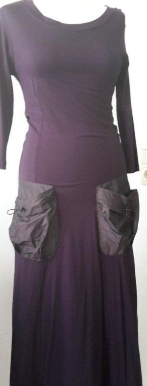 CINCINI Hollandmode Shirtkleid Ausgefallene Taschen NEU Gr. 36 Viskose Elastan