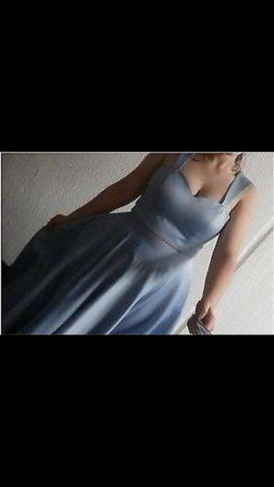 Cinderella abendkleid mit bauchschlitz
