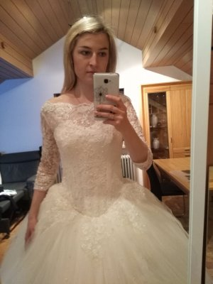 Cinderella Hichzeitskleid Brautkleid 34 -38