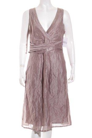Cinque A-Linien Kleid blasslila Glanz-Optik