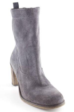 Cinque Absatz Stiefel graublau Casual-Look
