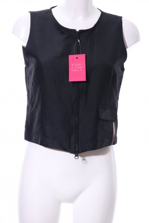 Cinque ärmellose Bluse schwarz Casual-Look
