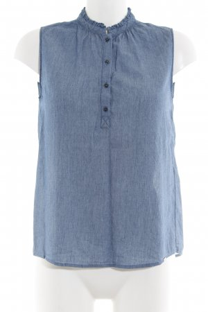 Cinque Sleeveless Blouse blue casual look