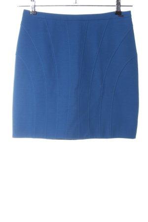 Cinque Bleistiftrock blau Steppmuster Casual-Look