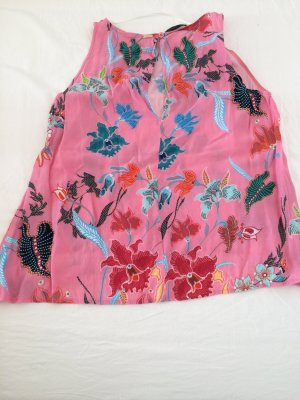 Cinque Mouwloze blouse veelkleurig