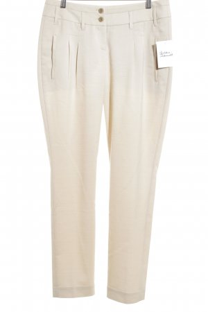 Cinque Pleated Trousers cream mixture fibre