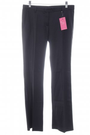 Cinque Pantalone a pieghe nero stile casual
