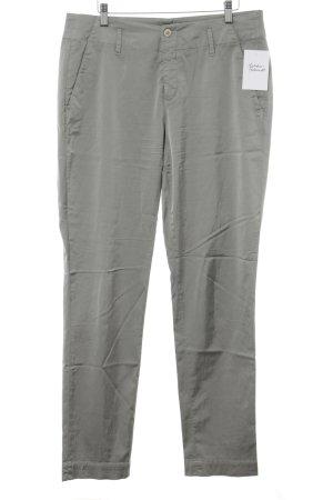 Cinque Pantalon à pinces argenté style classique