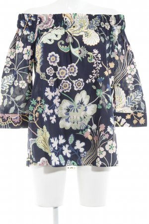 Cinque Carmen-Bluse florales Muster Romantik-Look