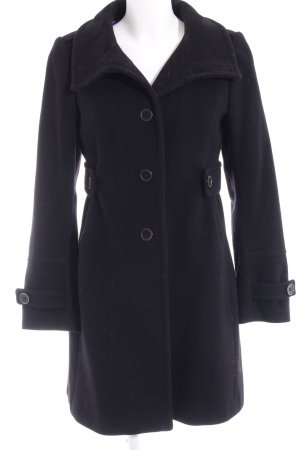Cinque Frock Coat black-steel blue casual look