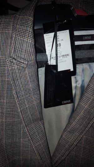 Cinque Blazer corto nero-marrone-nero Cotone