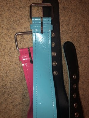 Cinque Hip Belt pink-light blue
