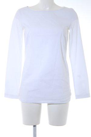 Cinque Hemd-Bluse weiß bezogene Knöpfe