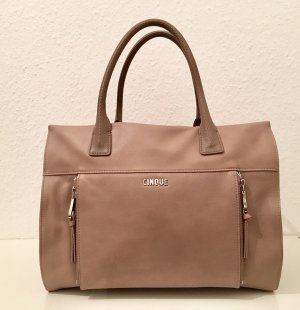 Cinque Carry Bag taupe leather