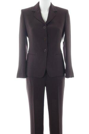 Cinque Trouser Suit dark brown business style