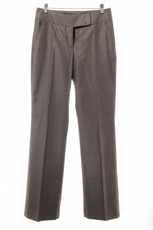 Cinque Trouser Suit grey brown-black check pattern business style
