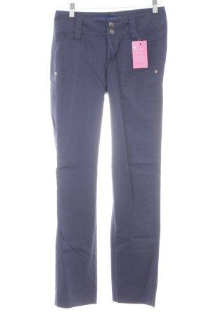 Cinque Pantalone a vita bassa blu scuro stile professionale