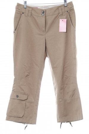 Cinque Low-Rise Trousers light brown casual look