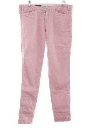 Cinque Pantalón de pinza alto rosa look casual