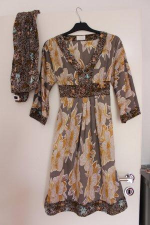 Cinque Kleid mit Schal, Gr. 36