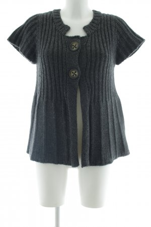 Cinque Short Sleeve Knitted Jacket dark grey-grey casual look