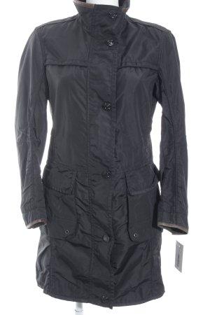 Cinque Abrigo corto negro-marrón look casual