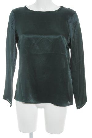 Cinque Langarm-Bluse petrol Elegant
