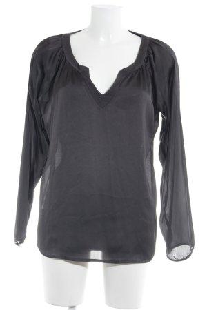 Cinque Langarm-Bluse schwarz Casual-Look