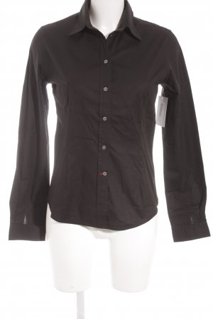 Cinque Langarmhemd schwarz Casual-Look