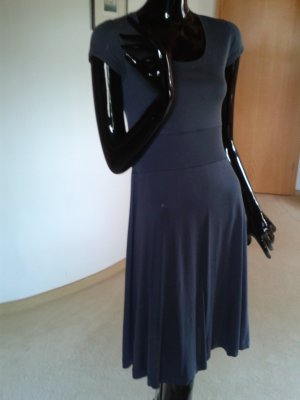 Cinque leichtes antrazithfarbenes Sommerkleid nGr. 36