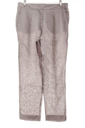 Cinque Pantalone di lino grigio-verde stile spiaggia