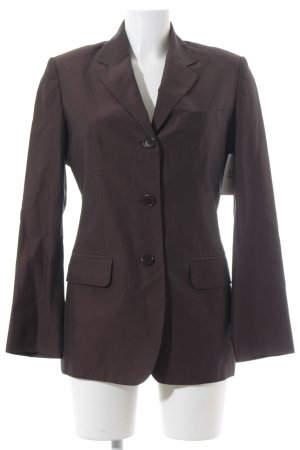 Cinque Long-Blazer dunkelbraun Business-Look