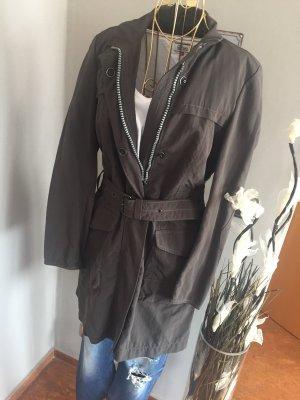Cinque Mantel Trenchcoat wasserabweisend Khaki Gr 38